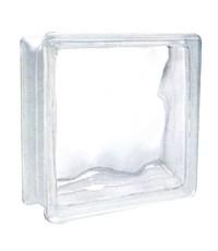 บล็อคแก้ว VALUE พริ้วแก้ว 4 นิ้ว ตราช้างแก้ว