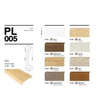 ไม้บัว บัวล่าง PL005 YES MOULDING Modern Style
