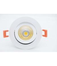 โคมฝังฝ้า LED Downlight COB (กลม) 9W
