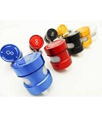 Lightech - กระปุกน้ำมัน และ ขาติดตั้ง  สำหรับรถทุกรุ่น มี 4 สี ได้แก่  แดง , น้ำเงิน , ดำ