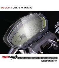 ฟิล์มกันรอยหน้าปัด MotoSkin สำหรับ Monster821