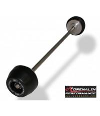 Evotech กันล้มล้อหน้า-หลัง (Front Axle Protector )  สำหรับ S1000RR 10-14