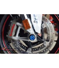 Lightech - กันล้มหน้า+หลัง Wheel Axle Sliders  สำหรับ S1000RR  ปี 2015 ขึ้นไป