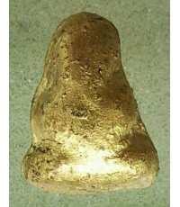 พระปิดตารุ่นแรกหลวงพ่อบุญเทียม วัดลาดหลุมแก้ว ปทุมธานี พิมพ์กระโดดบาตร ลงรักปิดทอง สวยเดิมๆ