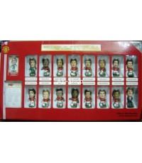 โมเดลนักฟุตบอล Corinthian Prostars Manchester United 2007/8 Double Winners Pack