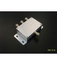 Power RF splitter 3 way N Type Female ตัวขยายจุดกระจายสัญญาณ 3G ราคาพิเศษ 950 บาท ส่งฟรี