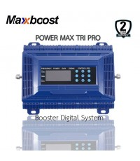 MAXBOOST digital repeater รุ่น TRI-band WRE81821 (850/1800/2100 MHz)