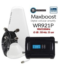 Maxboost Repeater WR921 ขยายสัญญาณ 3G/4G AIS TRUE DTAC TOT