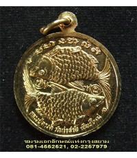 เหรียญปลาตะเพียนทอง หลวงปู่ครูบาดวงดี วัดท่าจำปี