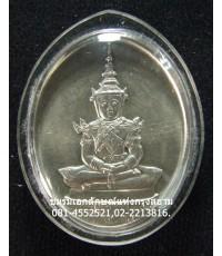 เหรียญพระแก้วมรกต เนื้อเงิน รุ่น ๒๐๐ ปี ทรงฤดูร้อน