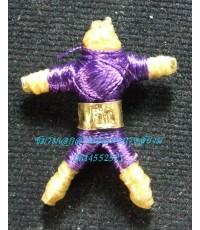 หุ่นพยนต์พกพา แบบตะกรุดทองคำ อาจารย์ปืน วัดลาดชะโด...2
