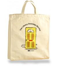 กระเป๋าผ้า เเคนวาสดิบ เนื้อหนา (Canvas Shopping Bag)