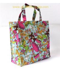กระเป๋า PVC ผ้าเเบบ LeSport ลายน่ารัก