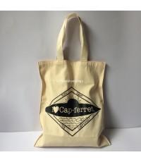 กระเป๋าสะพาย ผ้าแคนวาส ผ้าดิบ Logo CAPFERRET