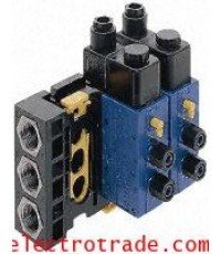 Rexroth Series 840,5727410220 DOUBLE SOLENOID 4/2 DIA.8x1 24 VDC
