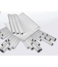 พลาสติกรองโมผ้ายางและโมเพลท แบบมีกาวในตัว UNDERPACK-FOIL size:1050x1000x0.35 mm.