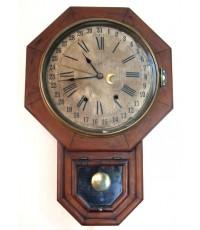 นาฬิกาเเขวนโบราณ U.S.A บอกวันที่