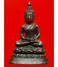 พระพุทธรูปศักดิ์สิทธิ์ หลวงปู่คำพันธุ์ รุ่นปฐวีธาตุ วัดธาตุมหาชัย นครพนม ปี36
