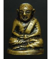 รูปหล่อหลวงพ่อเงิน บางคลาน หลวงพ่อเตียง วัดเขารูปช้างสร้างปี 2500