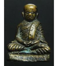 รูปหล่อโบราณอุดกริ่ง หลวงพ่อเงิน บางคลาน วัดท่ามะไฟ ปี 2420 (พระโชว์)