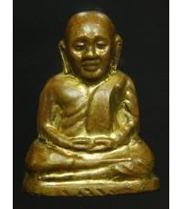 หลวงพ่อเงินวัดบางคลาน รุ่นอำเภอ เนื้อทองเหลือง ปี22 พิมพ์กรรมการ (สร้างน้อย หายาก)