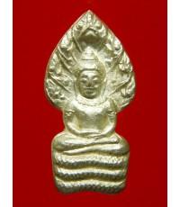 พระปรกใบมะขาม รุ่นเสาร์ 5 คูณพันล้าน เนื้อเงิน หลวงพ่อคูณ วัดบ้านไร่ ปี2537 (2)