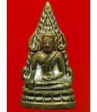 พระพุทธชินราช รุ่นมหาจักรพรรดิ์ วัดพระศรีฯ จ.พิษณุโลก ปี45 พิมพ์ใหญ่ ตอกโค๊ตใต้ฐาน หมายเลข 6660