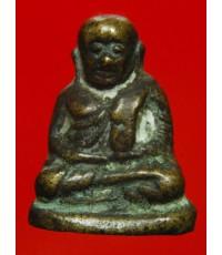 พระรูปหล่อ หลวงพ่อเงินวัดบางคลาน พิมพ์นิยม วัดท้ายน้ำ พิจิตร สร้างปี46 พร้อมซองกำมะหยี่เดิมๆ (2)