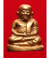 หลวงพ่อเงินวัดบางคลาน รุ่นช้างคู่ พิมพ์ใหญ่ ปี26 เนื้อทองเก่า พร้อมบัตรการันตีพระแท้ สภาพสวย
