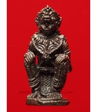 หนุมานมหาปราบไตรจักร หลวงพ่อสาคร วัดหนองกรับ อธิฐานจิตรเสกเดี่ยว เนื้อนวโลหะเลข ๕๑๗