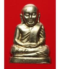 หลวงพ่อเงินบางคลาน รุ่น ๕๕ มหาบารมี ๘๕ พรรษา ปี๕๕ เนื้ออัลปาก้า พิมพ์มือนับแบงค์ กล่องเดิม (3)