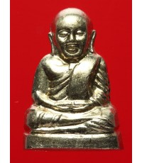หลวงพ่อเงินบางคลาน รุ่น ๕๕ มหาบารมี ๘๕ พรรษา ปี๕๕ เนื้ออัลปาก้า พิมพ์มือนับแบงค์ กล่องเดิม (4)