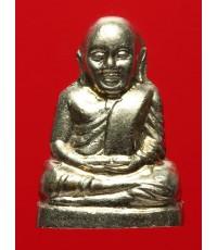 หลวงพ่อเงินบางคลาน รุ่น ๕๕ มหาบารมี ๘๕ พรรษา ปี๕๕ เนื้ออัลปาก้า พิมพ์มือนับแบงค์ กล่องเดิม (5)