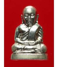 หลวงพ่อเงินบางคลาน (เนื้อเงิน) รุ่น ๕๕ มหาบารมี ๘๕ พรรษา ปี๕๕ พิมพ์มือนับแบงค์ กล่องเดิม (1)