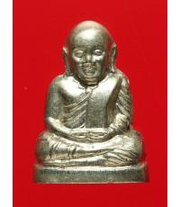 หลวงพ่อเงินบางคลาน รุ่น ๕๕ มหาบารมี ๘๕ พรรษา ปี๕๕ เนื้ออัลปาก้า พิมพ์มือนับแบงค์ กล่องเดิม