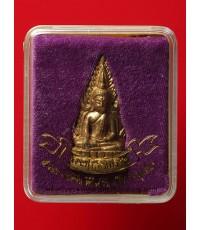 พระพุทธชินราช รุ่น 5 รอบอินโดจีน (ชินราชจอมไทย) เนื้อทองทิพย์ ปี44 กล่องเดิมสวยเดิม (2)
