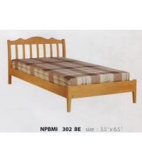 เตียงนอนไม้ยางพารา รุ่นไมอามี่