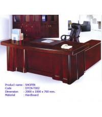 โต๊ะทำงานผู้บริหาร Shopin  2.00 เมตร(Di)