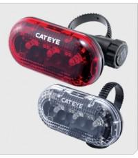 ไฟท้าย cateye TL-LD 170 -R รุ่นใหม่ ขาย 330 บาท รวมค่าส่งไว้แล้ว มีถ่านให้ด้วยค่ะ มีแต่สีแดง