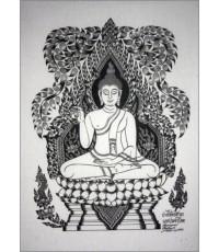 ศิลปะไทยภาพพิมพ์ ปางชี้อัครสาวก (P179)