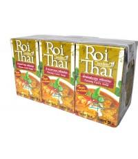 รอยไทยน้ำแกงพะแนง 6*250 ml ซื้อสินค้าครบ 500 บาทขึ้นไป จัดส่งฟรีทั่วประเทศ
