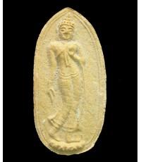 พระลีลาทุ่งเศรษฐี  เนื้อว่านดอกทอง(เหลือง) - 5