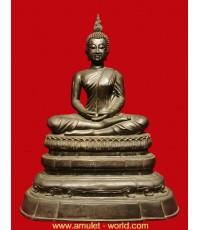 พระพุทธอังคีรส ครบรอบ 100 ปี วัดราชบพิธ หน้าตัก 9 นิ้ว ปี2513 เนื้อโลหะผสม (องค์ที่ 1)