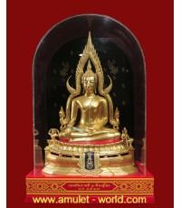 พระพุทธชินราช ภปร. ในหลวงเสด็จทรงเททอง ปี2517 หน้าตัก 9 นิ้ว ปิดทอง ประกวดได้ที่1(องค์ที่ 2)