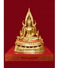พระพุทธชินราช วัดใหญ่พิษณุโลก ตัก5.9นิ้ว ปี18 ปิดทอง สวยครับ