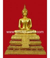 พระประธานวัดระฆังรุ่น 118 ปี พ.ศ.2533  หน้าตัก 9 นิ้ว ปิดทอง (องค์ที่2)
