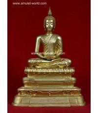 พระพุทธอังคีรส วัดราชบพิธ หน้าตัก 9 นิ้ว ปี2525 เนื้อกะไหล่ทอง (องค์ที่ 3)