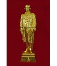 พระบรมรูปจำลอง ร.9 สูง 21.5 นิ้ว ฉลองกาญจนาภิเษก 2539 ปิดทอง