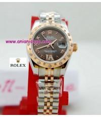 นาฬิกา ROLEX NEW DATEJUST LADY 2010 Everose Gold ( ตัวแคมเปญ ของ ROlex )งาน Mirror Image