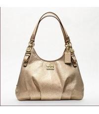 กระเป๋าสะพาย COACH MADISON LEATHER GOLD MAGGIE BAG 18932